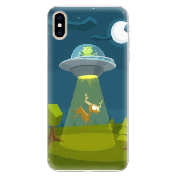 Silikonové pouzdro iSaprio - Alien 01 - iPhone XS Max