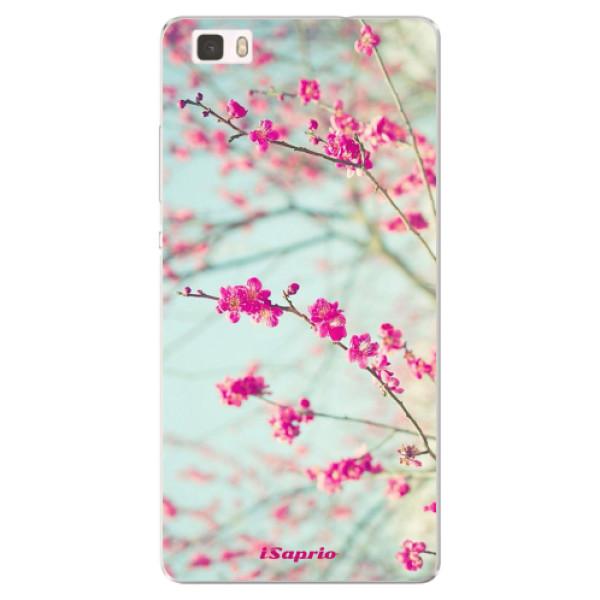 Silikonové pouzdro iSaprio - Blossom 01 - Huawei Ascend P8 Lite