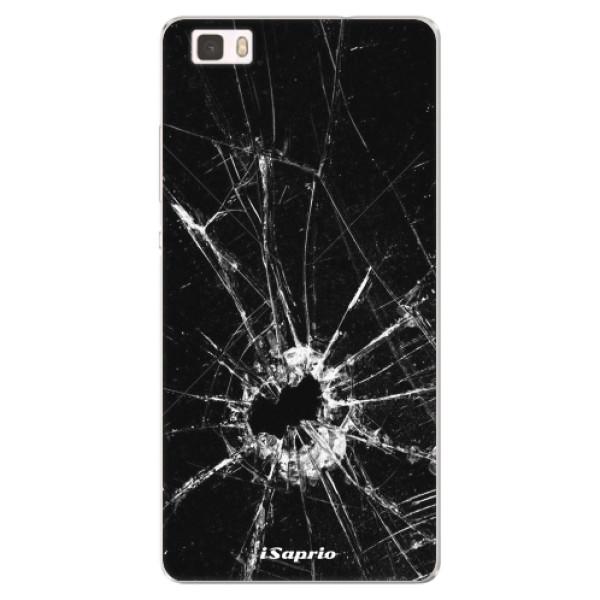 Silikonové pouzdro iSaprio - Broken Glass 10 - Huawei Ascend P8 Lite