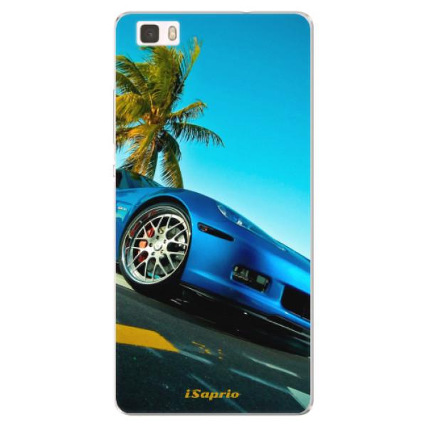 Silikonové pouzdro iSaprio - Car 10 - Huawei Ascend P8 Lite