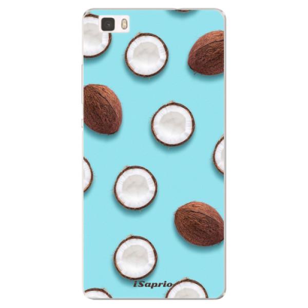 Silikonové pouzdro iSaprio - Coconut 01 - Huawei Ascend P8 Lite