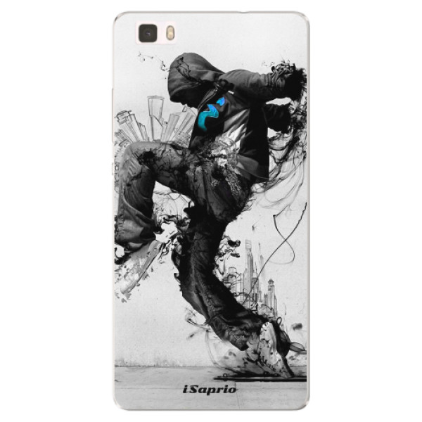 Silikonové pouzdro iSaprio - Dance 01 - Huawei Ascend P8 Lite