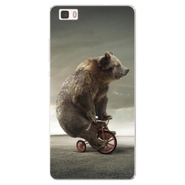 Silikonové pouzdro iSaprio - Bear 01 - Huawei Ascend P8 Lite