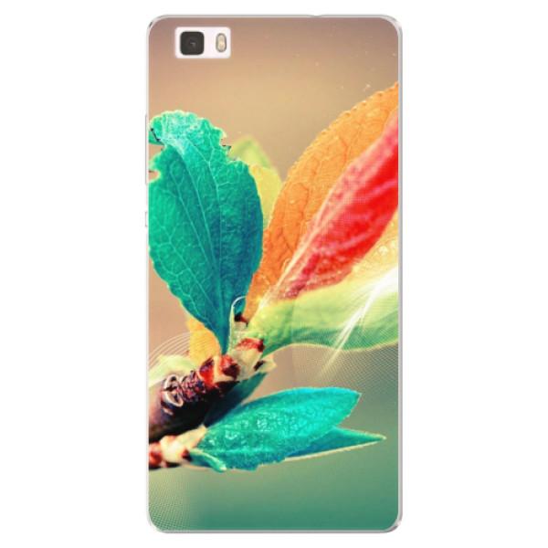 Silikonové pouzdro iSaprio - Autumn 02 - Huawei Ascend P8 Lite