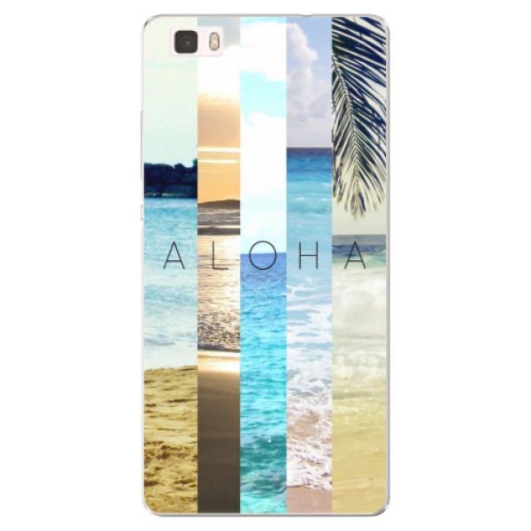Silikonové pouzdro iSaprio - Aloha 02 - Huawei Ascend P8 Lite