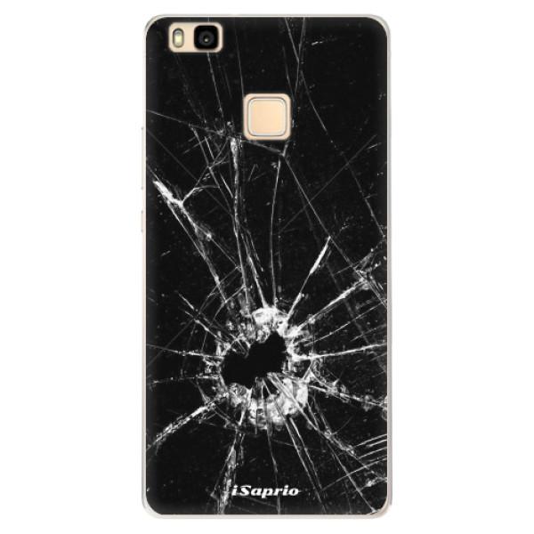 Silikonové pouzdro iSaprio - Broken Glass 10 - Huawei Ascend P9 Lite