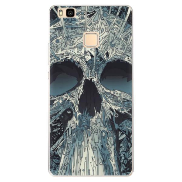 Silikonové pouzdro iSaprio - Abstract Skull - Huawei Ascend P9 Lite
