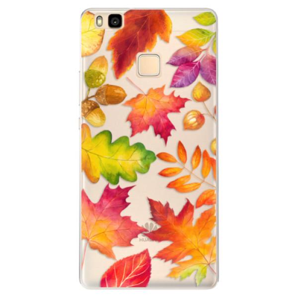 Silikonové pouzdro iSaprio - Autumn Leaves 01 - Huawei Ascend P9 Lite