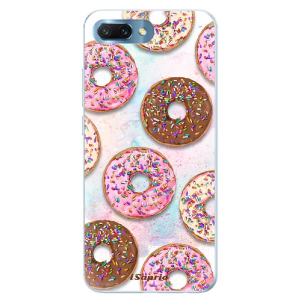 Silikonové pouzdro iSaprio - Donuts 11 - Huawei Honor 10