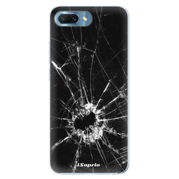 Silikonové pouzdro iSaprio - Broken Glass 10 - Huawei Honor 10