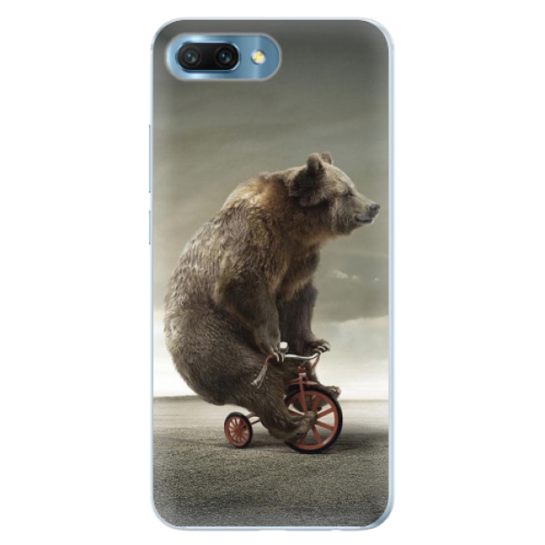 Silikonové pouzdro iSaprio - Bear 01 - Huawei Honor 10