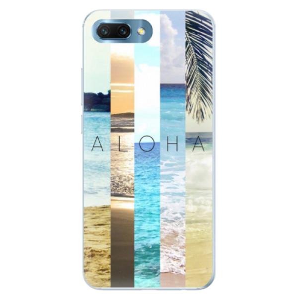 Silikonové pouzdro iSaprio - Aloha 02 - Huawei Honor 10
