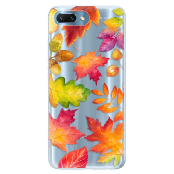 Silikonové pouzdro iSaprio - Autumn Leaves 01 - Huawei Honor 10