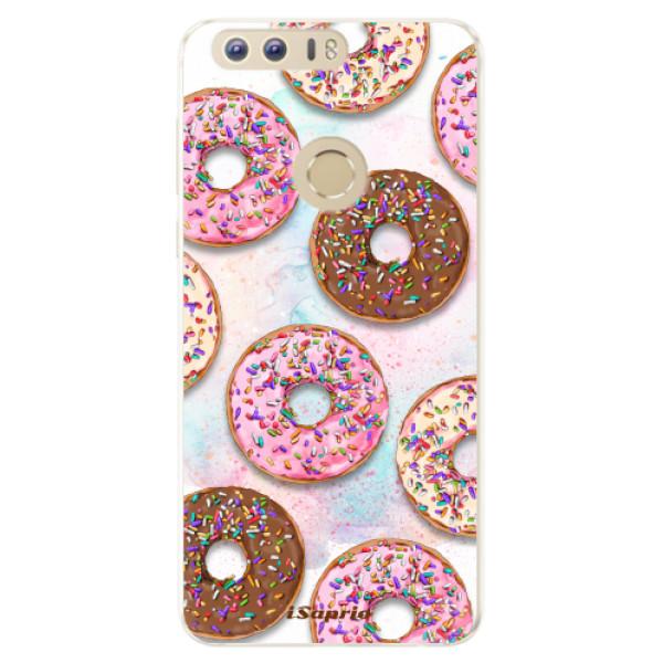 Silikonové pouzdro iSaprio - Donuts 11 - Huawei Honor 8