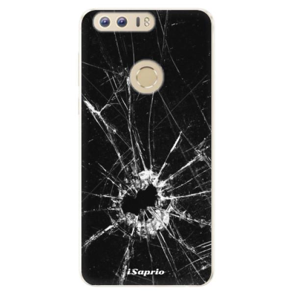 Silikonové pouzdro iSaprio - Broken Glass 10 - Huawei Honor 8