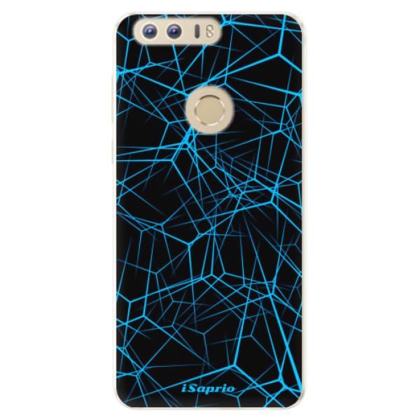 Silikonové pouzdro iSaprio - Abstract Outlines 12 - Huawei Honor 8