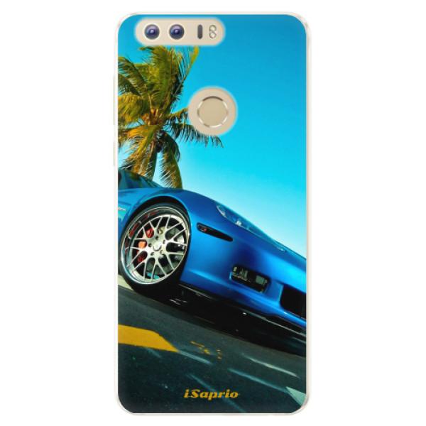 Silikonové pouzdro iSaprio - Car 10 - Huawei Honor 8