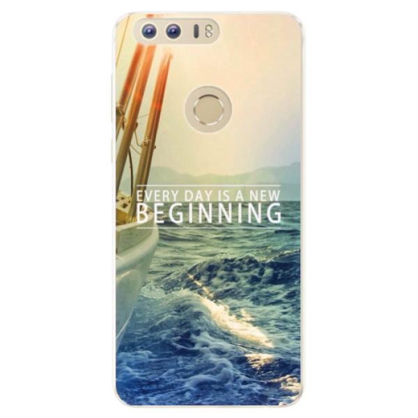 Silikonové pouzdro iSaprio - Beginning - Huawei Honor 8