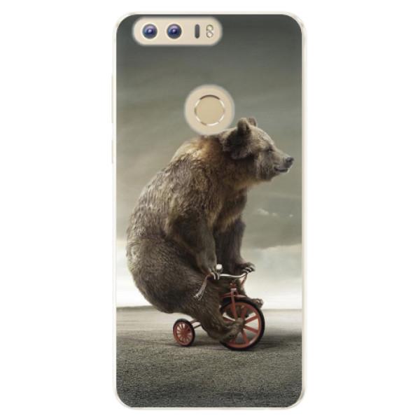 Silikonové pouzdro iSaprio - Bear 01 - Huawei Honor 8