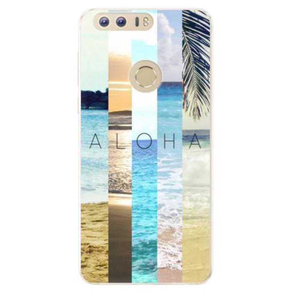 Silikonové pouzdro iSaprio - Aloha 02 - Huawei Honor 8