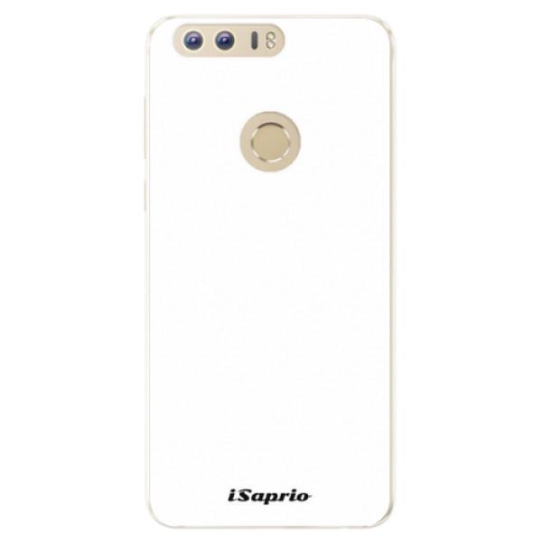 Silikonové pouzdro iSaprio - 4Pure - bílý - Huawei Honor 8