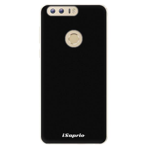 Silikonové pouzdro iSaprio - 4Pure - černý - Huawei Honor 8