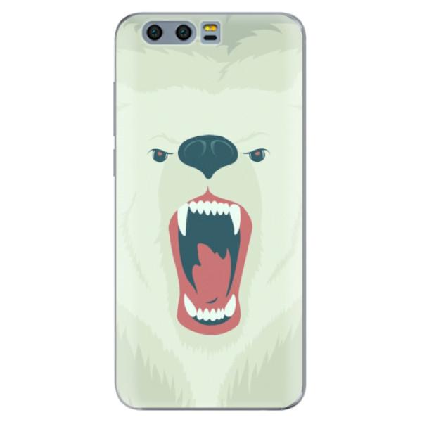 Silikonové pouzdro iSaprio - Angry Bear - Huawei Honor 9