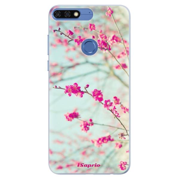 Silikonové pouzdro iSaprio - Blossom 01 - Huawei Honor 7C