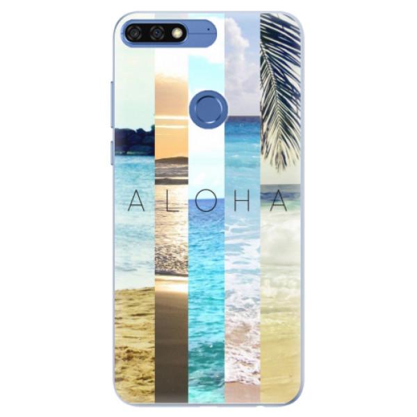 Silikonové pouzdro iSaprio - Aloha 02 - Huawei Honor 7C