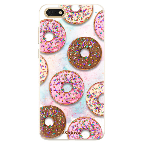Silikonové pouzdro iSaprio - Donuts 11 - Huawei Honor 7S