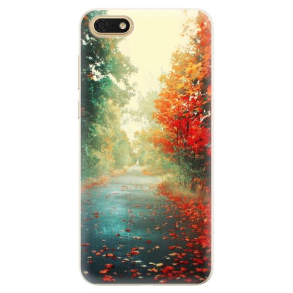 Silikonové pouzdro iSaprio - Autumn 03 - Huawei Honor 7S