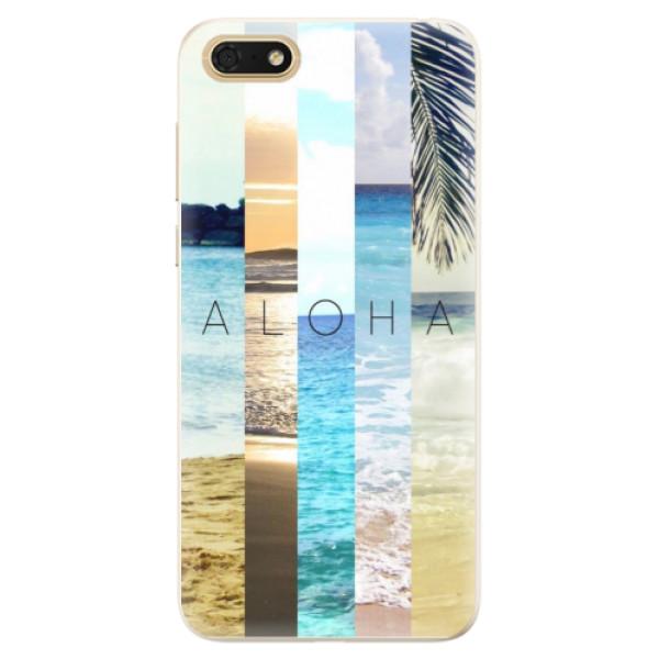 Silikonové pouzdro iSaprio - Aloha 02 - Huawei Honor 7S