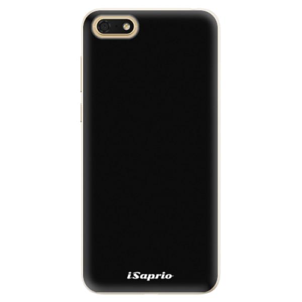 Silikonové pouzdro iSaprio - 4Pure - černý - Huawei Honor 7S
