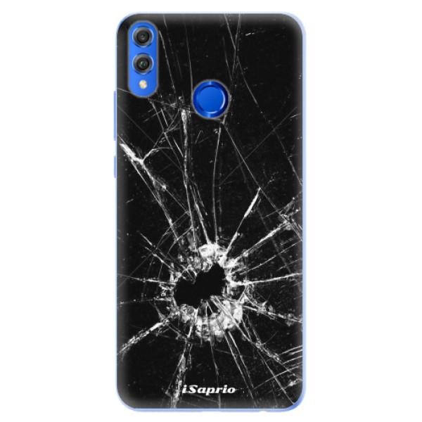 Silikonové pouzdro iSaprio - Broken Glass 10 - Huawei Honor 8X