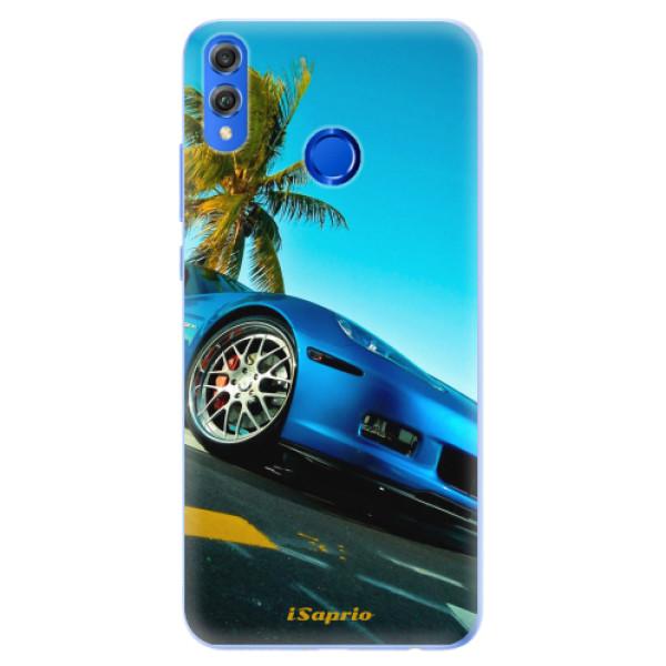 Silikonové pouzdro iSaprio - Car 10 - Huawei Honor 8X