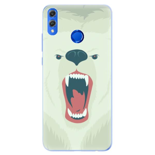 Silikonové pouzdro iSaprio - Angry Bear - Huawei Honor 8X