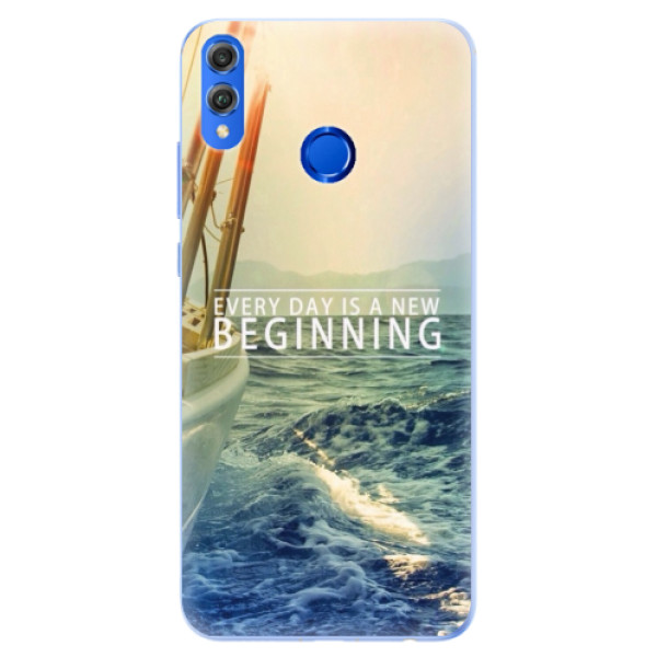 Silikonové pouzdro iSaprio - Beginning - Huawei Honor 8X