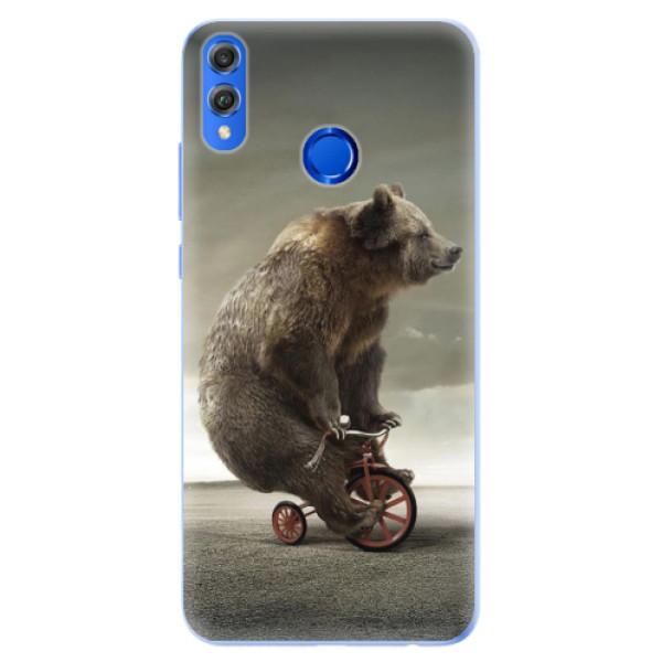 Silikonové pouzdro iSaprio - Bear 01 - Huawei Honor 8X