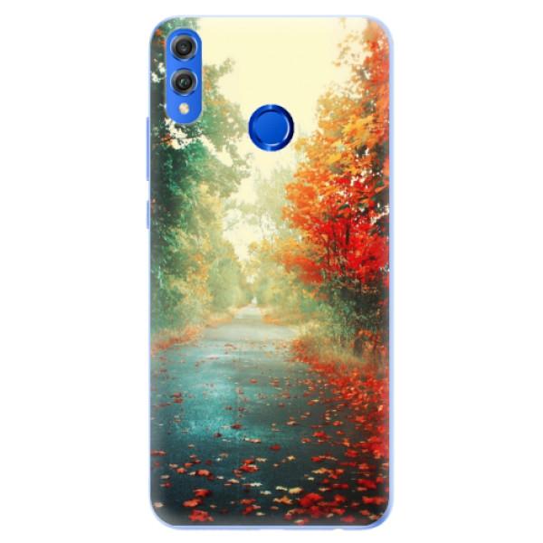 Silikonové pouzdro iSaprio - Autumn 03 - Huawei Honor 8X