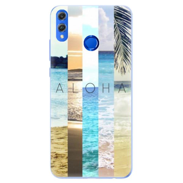 Silikonové pouzdro iSaprio - Aloha 02 - Huawei Honor 8X