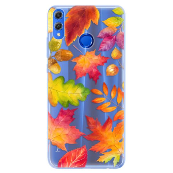 Silikonové pouzdro iSaprio - Autumn Leaves 01 - Huawei Honor 8X