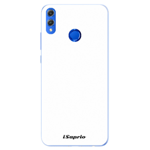 Silikonové pouzdro iSaprio - 4Pure - bílý - Huawei Honor 8X