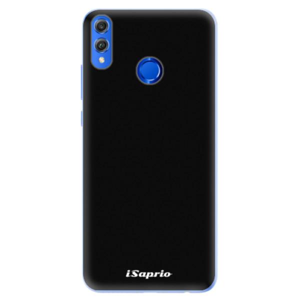 Silikonové pouzdro iSaprio - 4Pure - černý - Huawei Honor 8X