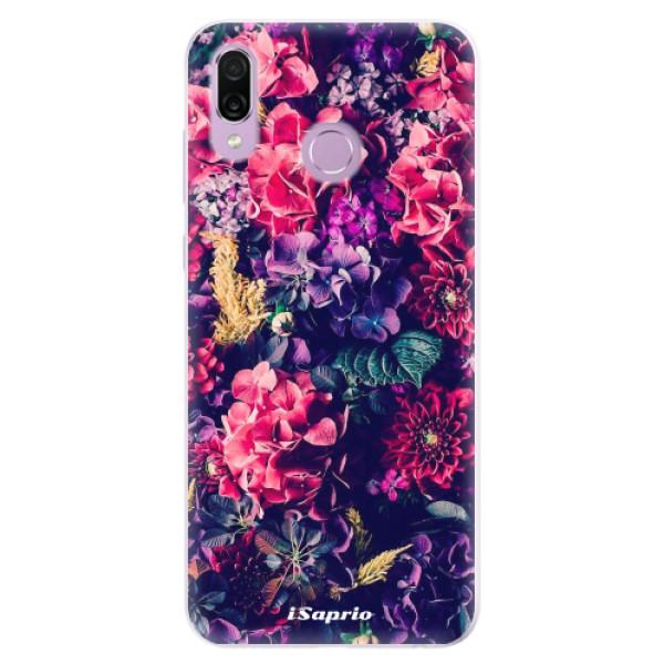 Silikonové pouzdro iSaprio - Flowers 10 - Huawei Honor Play