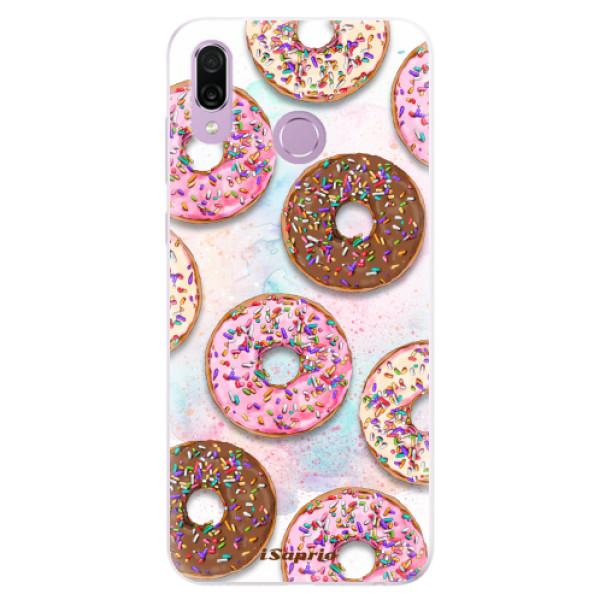 Silikonové pouzdro iSaprio - Donuts 11 - Huawei Honor Play