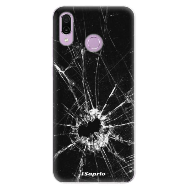Silikonové pouzdro iSaprio - Broken Glass 10 - Huawei Honor Play