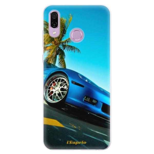 Silikonové pouzdro iSaprio - Car 10 - Huawei Honor Play