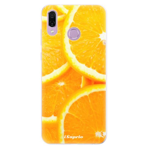 Silikonové pouzdro iSaprio - Orange 10 - Huawei Honor Play