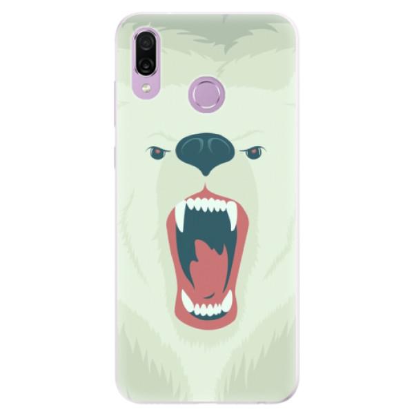 Silikonové pouzdro iSaprio - Angry Bear - Huawei Honor Play
