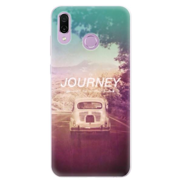 Silikonové pouzdro iSaprio - Journey - Huawei Honor Play